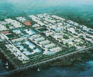 高校导航:青海大学校园平面图