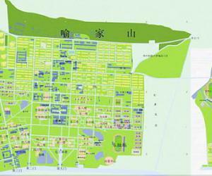 高校导航:华中科技大学校园平面图