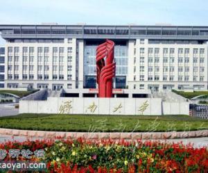 济南大学校园风光
